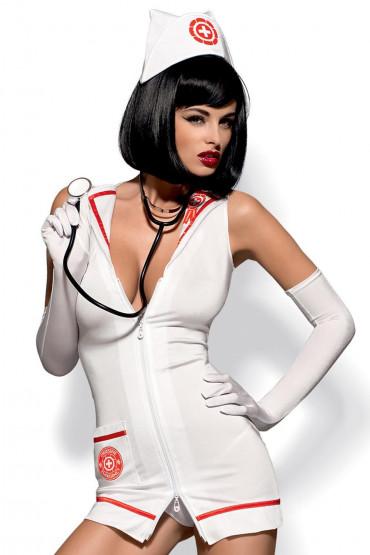 Фото Костюм доктора со стетоскопом Obsessive Emergency dress