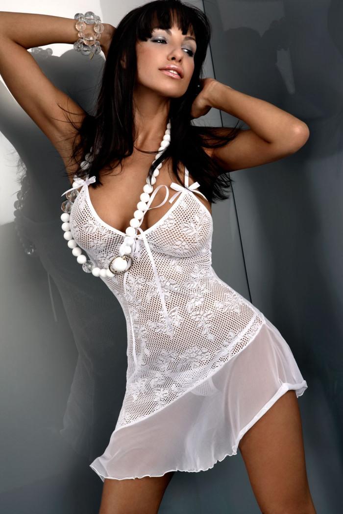 Сорочка Livia Corsetti Inez White