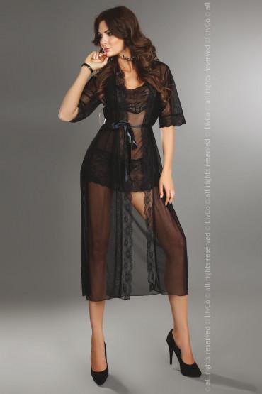 Халатик LivCo Fuksja dressing gown