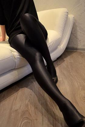 Плотные колготки с блеском Gatta Black Brilliant