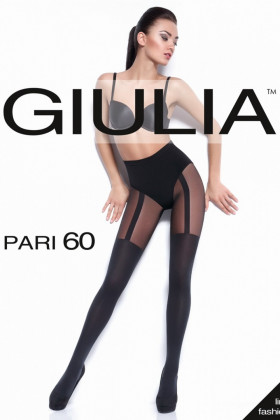 Фото Колготки с имитацией чулок Giulia Pari 60 №18