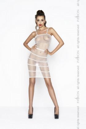 Платье-сетка Passion BS 033 white