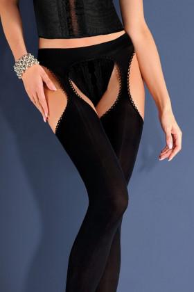Чулки с поясом Gabriella Strip Panty Microfibre