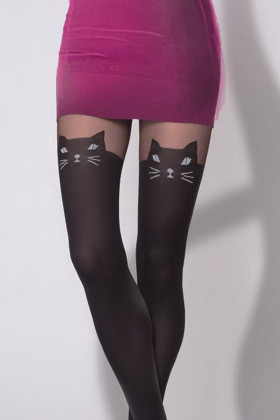 Колготки с имитацией чулок Gatta Girl-Up Cat