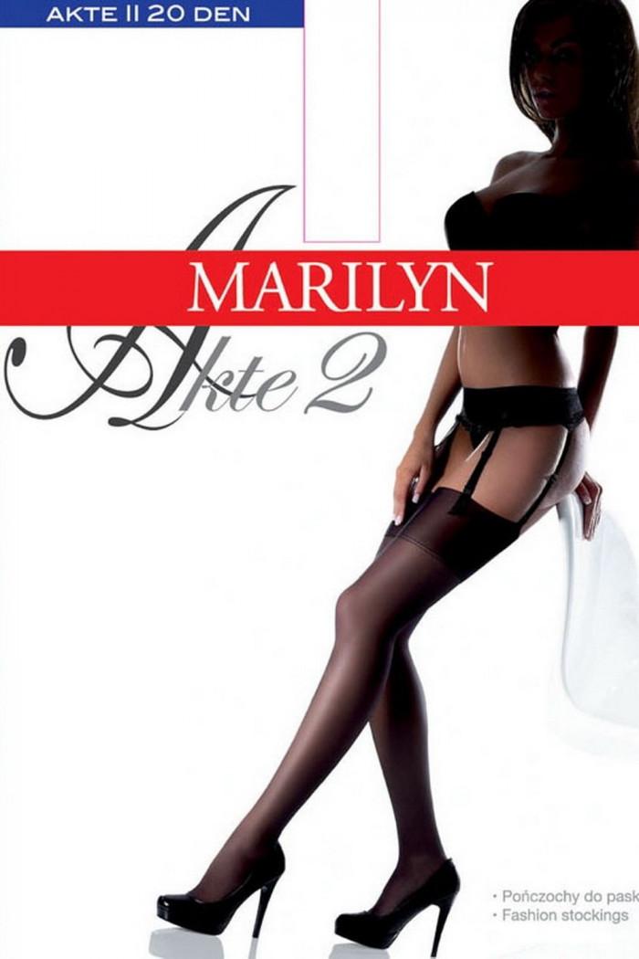 Чулки под пояс Marilyn Akte 15 ден