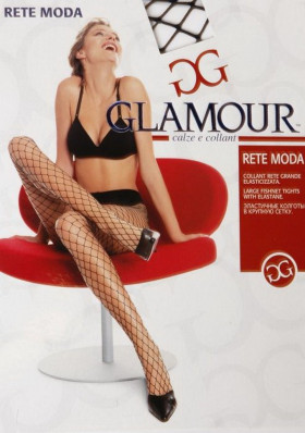 Колготки в крупную сетку GLAMOUR Rete Moda