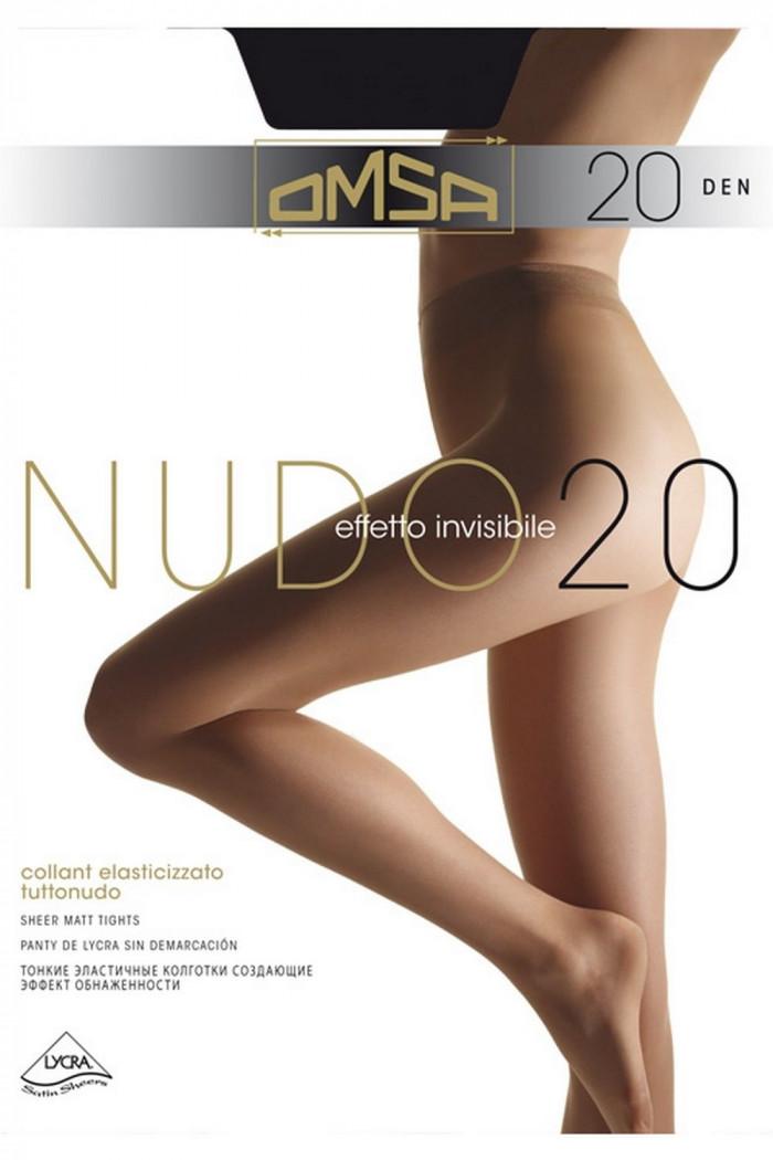 Колготки классические Omsa Nudo 20 den
