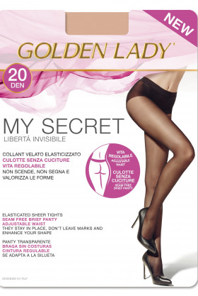 Колготки бесшовные Golden Lady My Secret 20den
