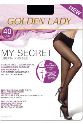 Колготки бесшовные Golden Lady My Secret 40den