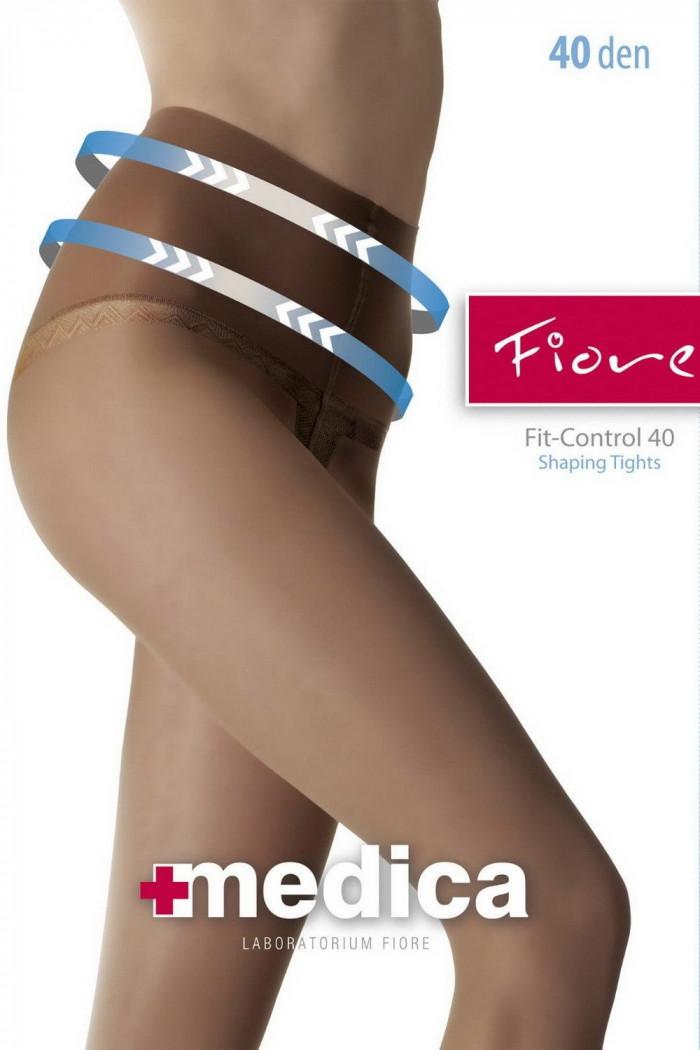 Колготки с широким поясом Fiore FIT-CONTROL 40d