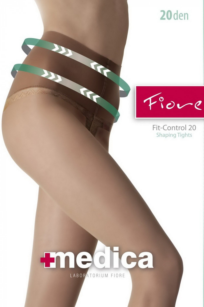 Колготки з широким поясом Fiore FIT-CONTROL 20d