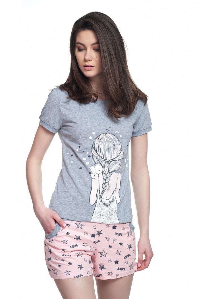 Пижама женская ELLEN LNP 018/001