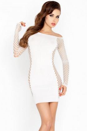 Платье-сетка Passion BS 025 white