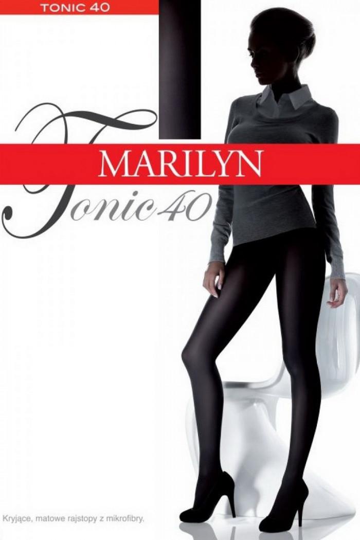Колготки матові непрозорі Marilyn Tonic 40