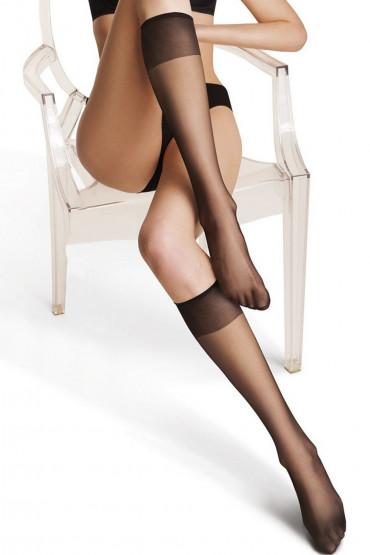 Фото Гольфы с прозрачным носком Legs 150 Leto 15d (2 пары)