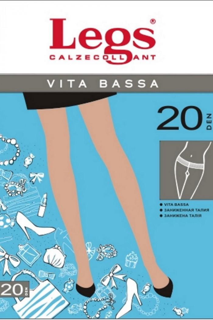 Колготки с заниженной талией Legs 210 VITA BASSA 20d