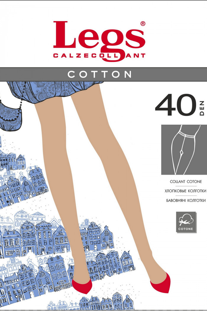 Колготки бавовняні Legs 600 COTTON 40d