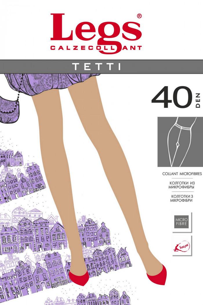 Колготки нерозрачние Legs 400 TETTI 40d