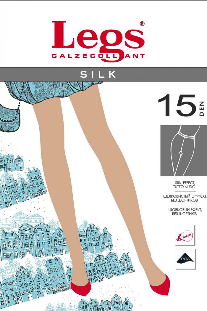 Колготки шовковисте Legs 201 SILK 15d