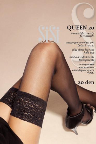 Фото Чулки с кружевом SiSi Queen 20d