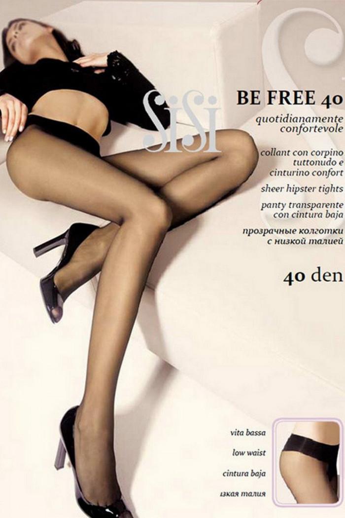 Колготки с низкой талией SiSi Be Free 40
