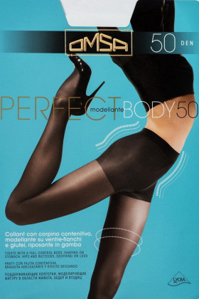 Фото Колготки корректирующие Omsa Perfect Body 50 den