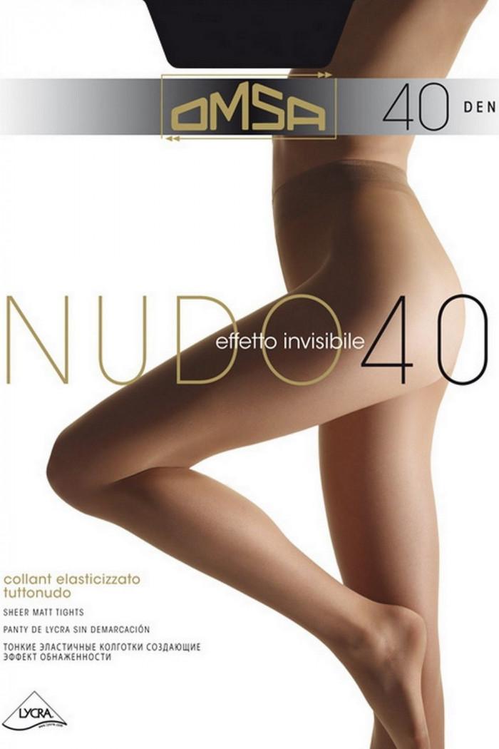 Колготки класичні Omsa Nudo 40 den
