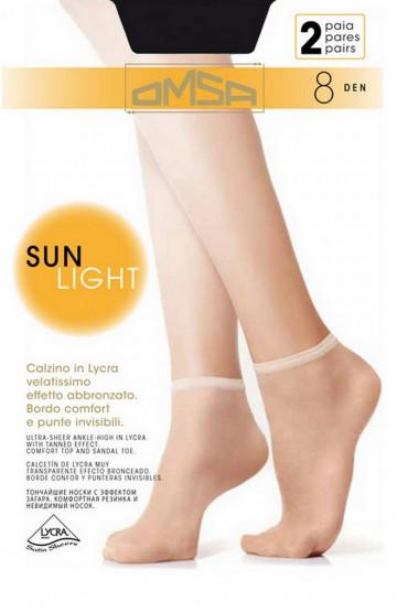 Фото Носки тонкие Omsa Sun Light 8 den (2 пары)