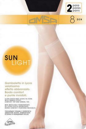 Гольфы Omsa Sun Light 8 den (2 пары)