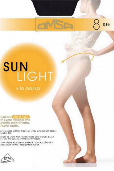 Фото Колготки с низкой талией Omsa Sun Light 8d Vita Bassa