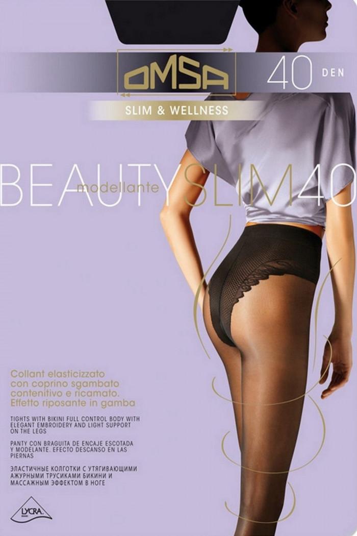 Колготки корректирующие Omsa Beauty Slim 40 den