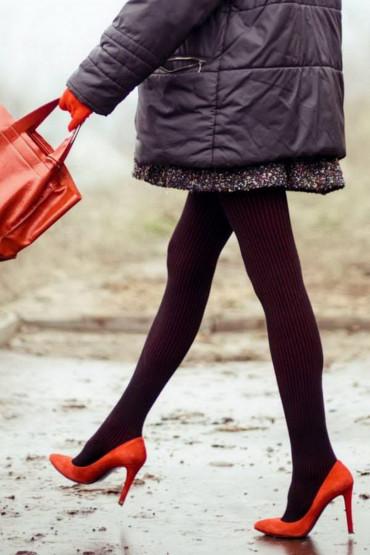 Фото Теплые хлопковые колготки Fiore Xara Cotton