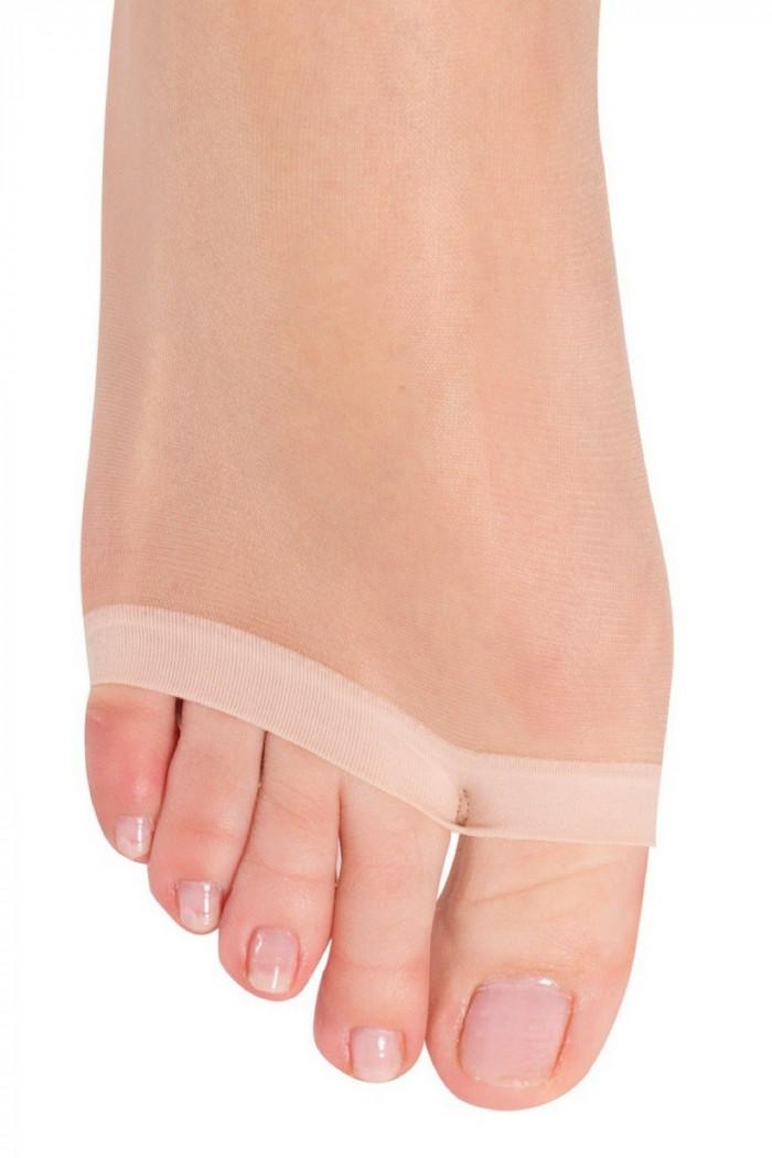 Колготки з відкритими пальчиками Conte Summer 8d open toe