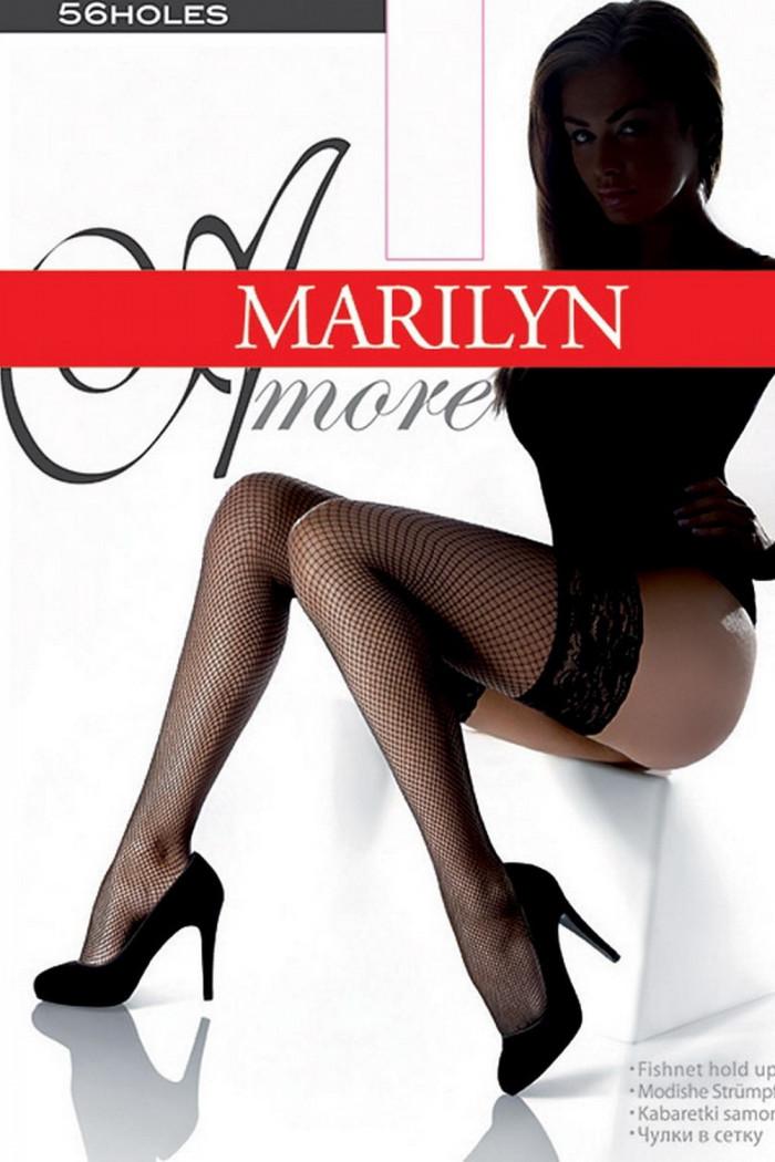 Чулки в сетку Marilyn AMORE