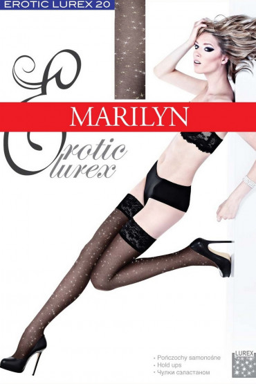 Чулки Marilyn Erotic Lurex 15 den