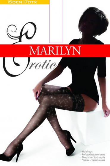 Фото Чулки с люрексом Marilyn Erotic Lurex 15 den
