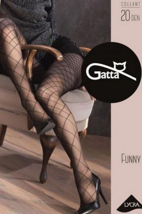 Колготки рисунок сетка GATTA FUNNY 04