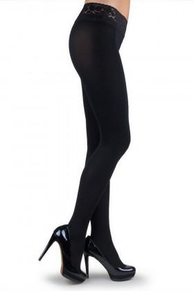 Фото Колготки с кружевным поясом Marilyn Erotic 100 den VB