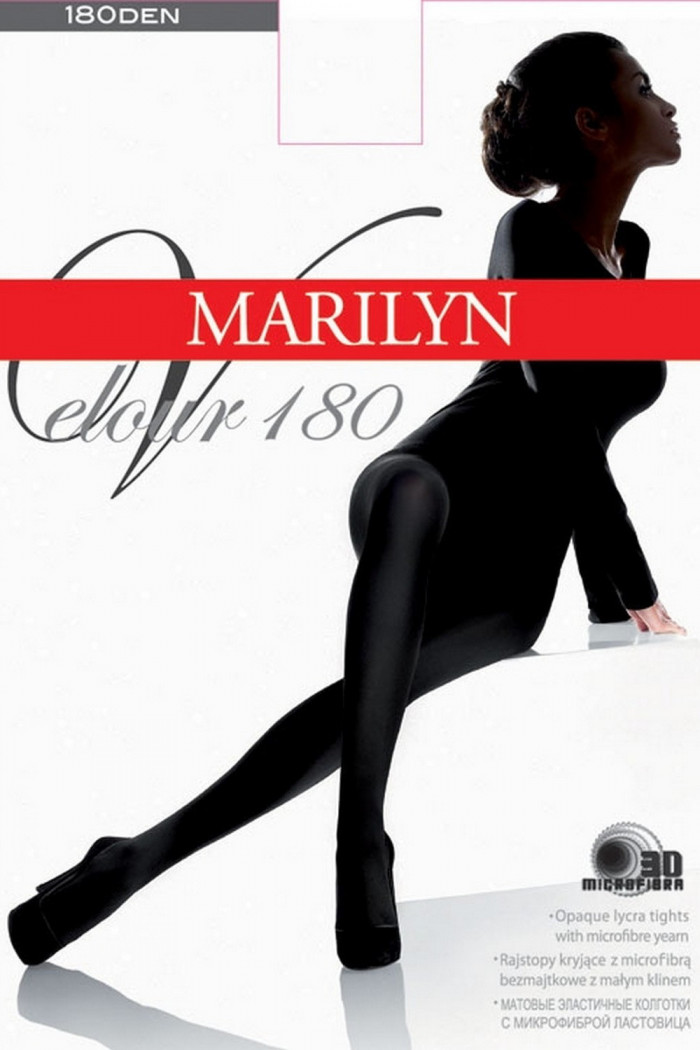 Колготки велюрові Marilyn Velour 180