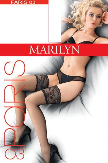 Фото Чулки с кружевной коронкой Marilyn Paris 03