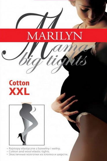 Колготки Marilyn MAMA Cotton 120