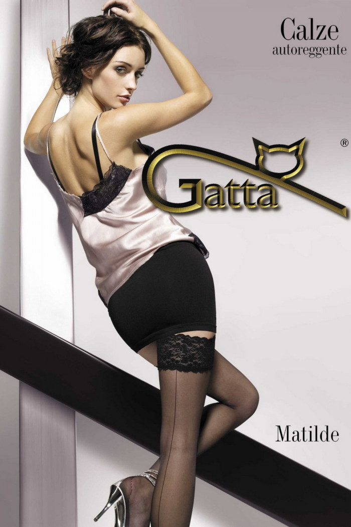 Чулки со стрелкой сзади Gatta Matilde 20d