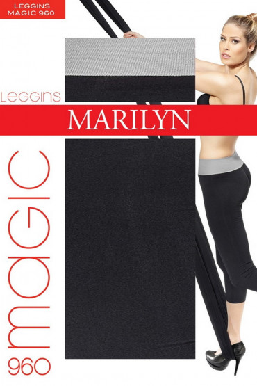 Фото Леггинсы с широким поясом Marilyn MAGIC 960