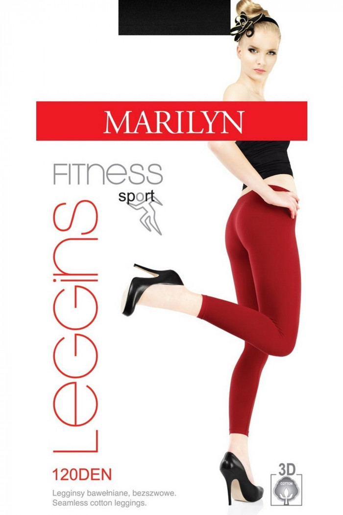 Леггинсы хлопковые Marilyn Magic Fitness