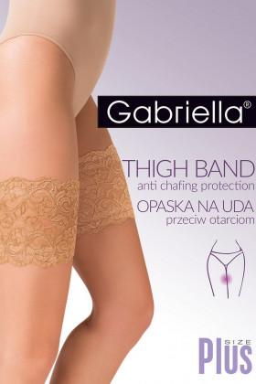 Стрічки на стегна проти натирань мереживні Gabriella Thigh Band Plus Size