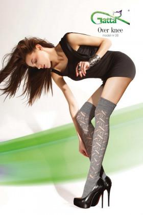 Фото Заколенки ажурные Gatta Over Knee 06