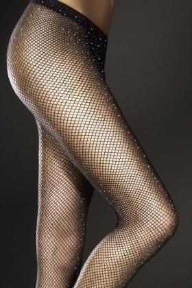 Колготки в сетку с люрексом Marilyn Casting 047 Lurex