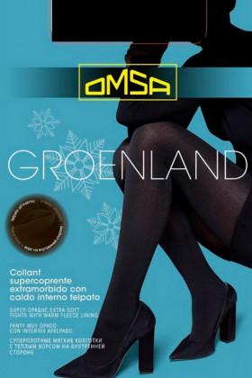 Колготки теплые Omsa Groenland 250d