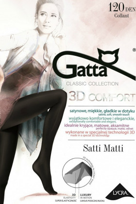 Колготки с блеском Gatta Satti Matti 120 den