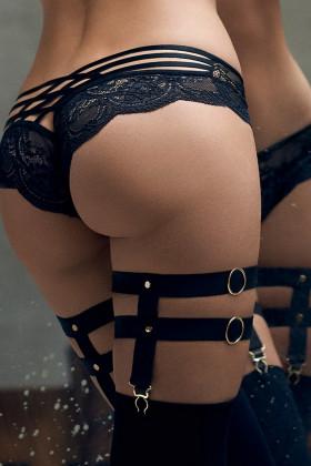 Фото Комплект - Подвязки с чулками Marilyn POUPEE NO MORE